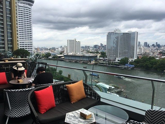 Beer Garden at 6th Floor, ICONSIAM, Thonburi Riverside, Bangkok, Thailand