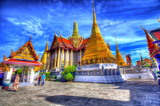 Exploring the Grand Palace, Bangkok, Thailand