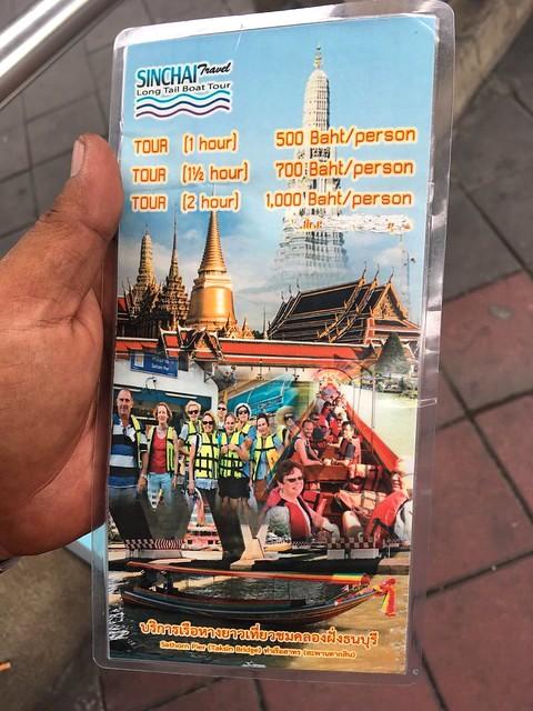 Klongs Tours, Sathorn/Central Pier, Bangkok, Thailand