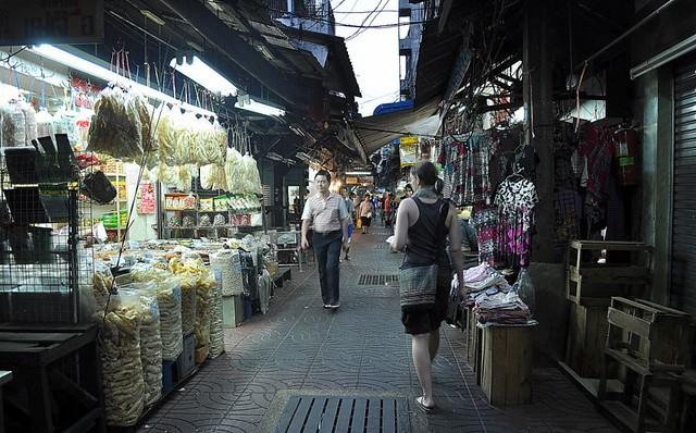 Street Market in Chinatown, Bangkok, Thailand