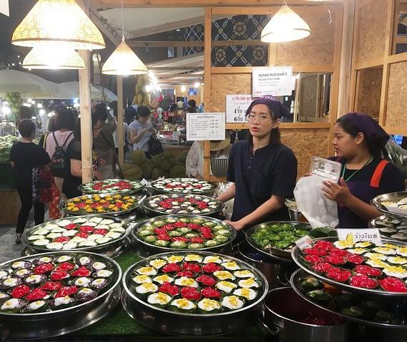 Food Stall, ICONSIAM, Bangkok, Thailand