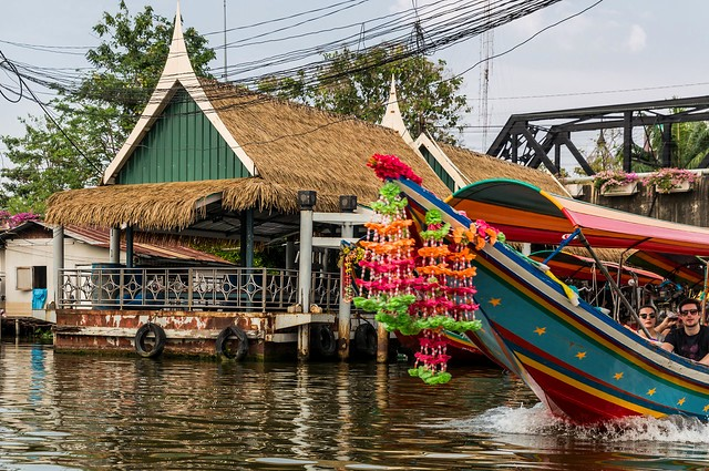 Klong Tour, Thonburi, Bangkok, Thailand
