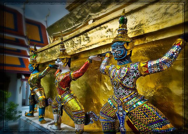 Beautiful Grand Palace, Bangkok, Thailand