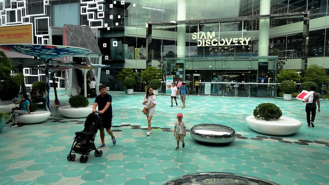 Visiting Siam Square with Kids, Bangkok, Thailand