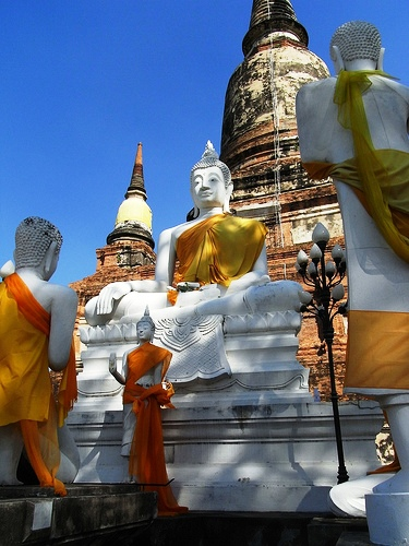 Temple, Historic City of Ayutthaya