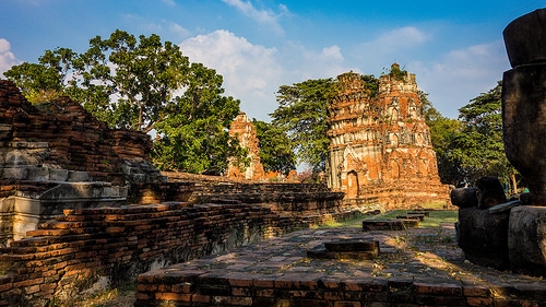Exploring Magical Ayutthaya, North of Bangkok, Thailand