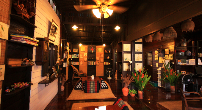 The Hall of Thanicha Resort in Amphawa, Thailand