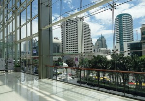 A View of Bangkok from Central World Shopping Mall