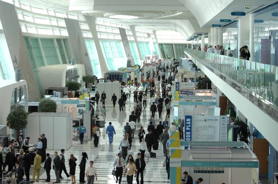 A Photo of the Concourse at ADNEC Abu Dhabi