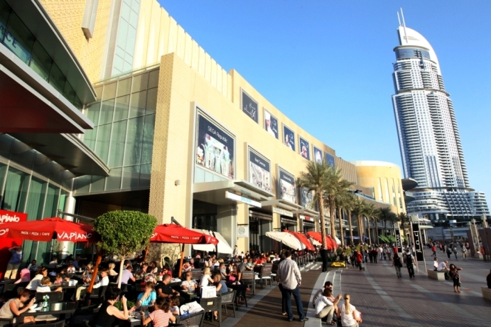 Photo of the Promenade at Dubai Mall