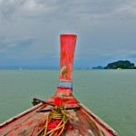 Looking the Horizon. A Great Shot! Krabi, Thailand