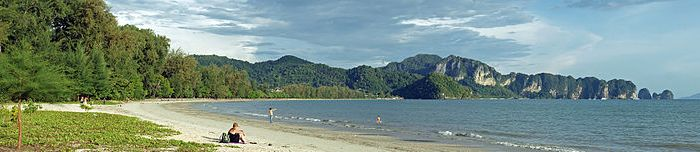 A Photo of Hat Noppharat Thara Beach near Ao Nang in Krabi,