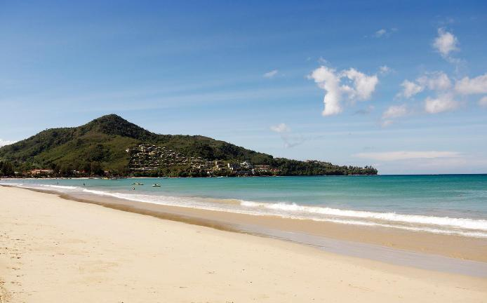 A Shot of Kamala Beach in Phuket