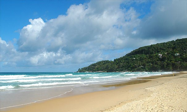 A Shot of Karon Beach in Phuket