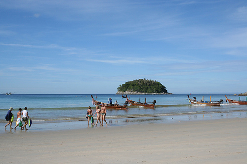 A Shot of Kata Beach in Phuket