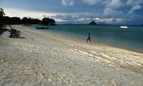 A Shot of Laem Thong Beach, Phi Phi Island