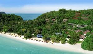 A Shot of Laem Thong Beach and Zeavola Resort, Phi Phi Island