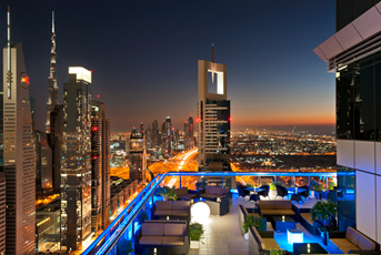 Photo of Level 43 Rooftop Lounge at Four Points by Sheraton on Sheikh Zayed Road