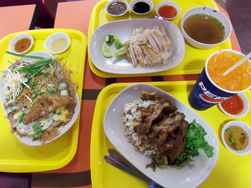 MBK Food Court in Bangkok