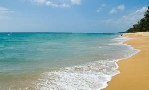 A Shot of Mai Khao Beach in Northern Phuket