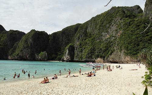 A Shot of Maya Bay, Phi Phi Leh
