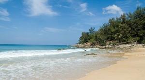 A Shot of Nai Thon Beach in Northern Phuket