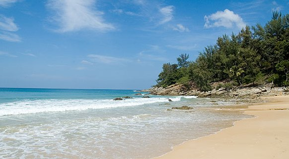 A Shot of Nai Thon Beach in Northern Phuket