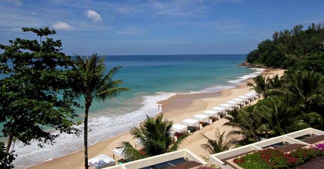 Nai Thorn, the Beach of Andaman White Beach Resort in Phuket