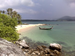 A Shot of Bon Island, South of Rawai, Phuket