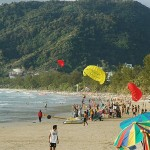 A Shot of Patong Beach in Phuket