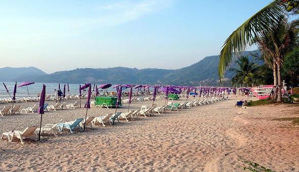 Patong Beach in the Old Days, Phuket
