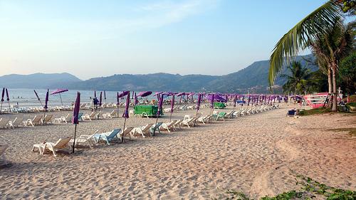 A Shot of Patong Beach in Phuket