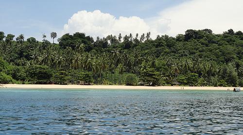 A Shot of Modee Bay, Phi Phi Island