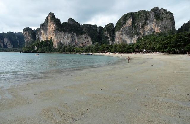 A Photo of Railay West Beach in Krabi, Thailand