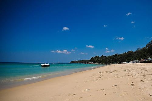 A Shot of Surin Beach in Phuket