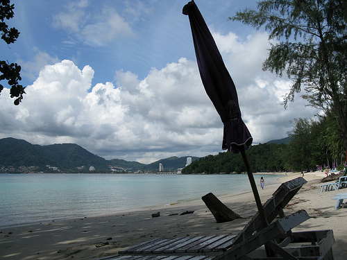 A Shot of Tri Tran Beach in Phuket