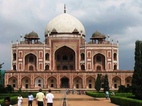The Tomb of Humayun in Delhi, India