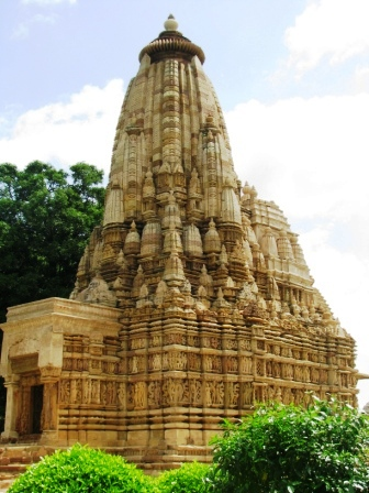 A shot of Khajuraho in India