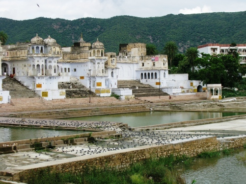 A shot of Pushkar in India