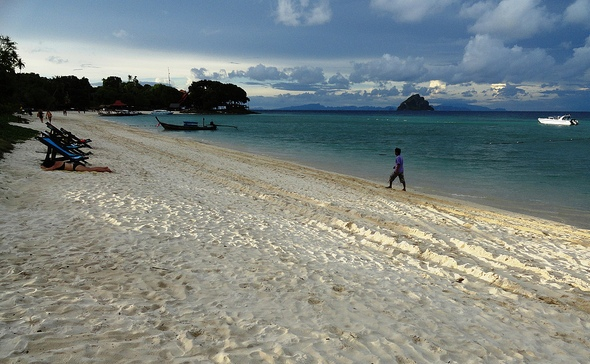Laem Thong Beach, East Coast of Phi Phi Island