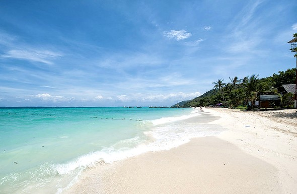 Laem Thong Beach, East Coast, Phi Phi Island, Thailand
