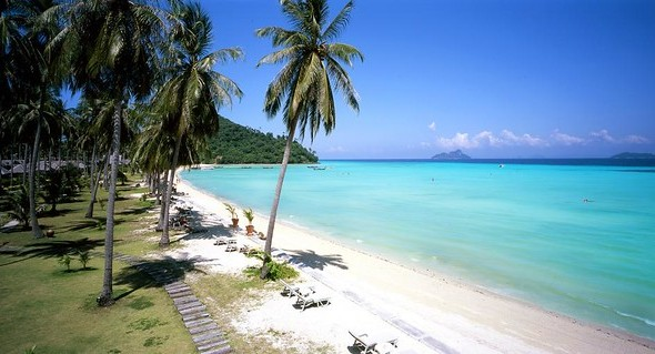 Loh Bakao Beach, East Coast, Phi Phi Island, Thailand