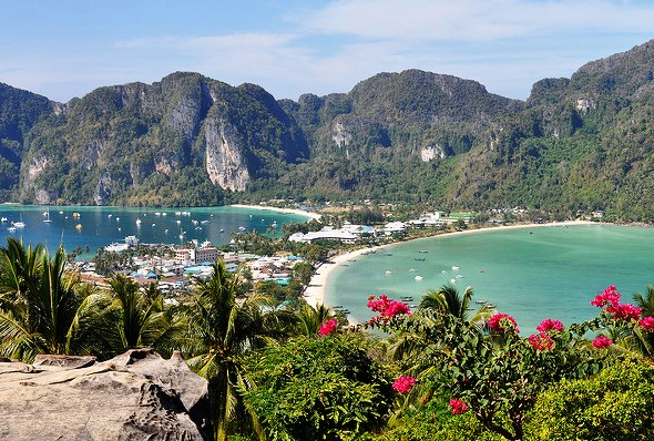 Phi Phi Island From the View Point