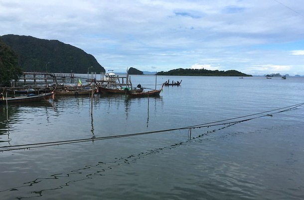 Ban Hua Hin Pier, Travelling from Krabi to Koh Lanta, Thailand