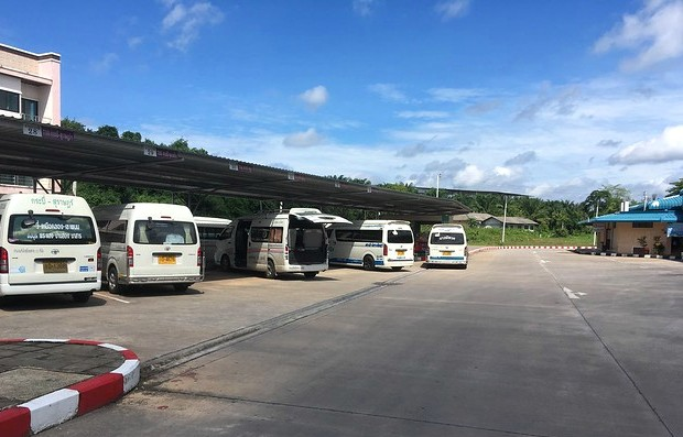 Krabi Bus Terminal, North of Krabi Town, Thailand