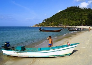 A View of Bottle Beach in Koh Phangan