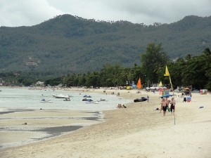 A View of Chaweng Beach in Koh Samui