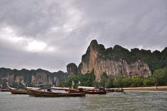 A Shot of Railay West Beach, Krabi