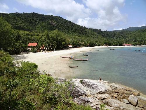 A View of Koh Phangan, Tong Nai Pan Yai Beach
