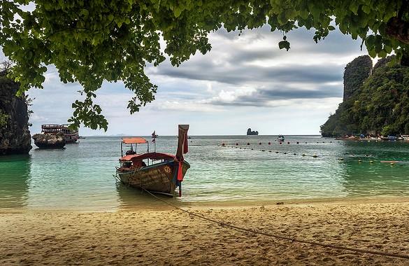 Longtail Boat, Hong Island, Krabi, Thailand